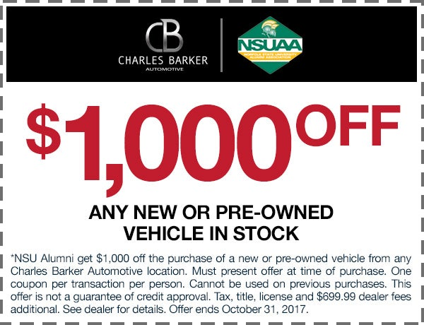 charles barker coupons
