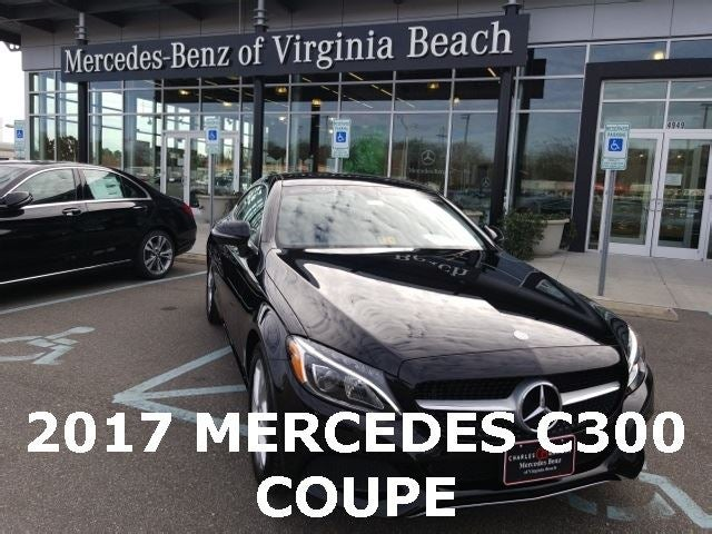 2017 mercedes benz c 300 virginia beach va newport news for Mercedes benz of va beach
